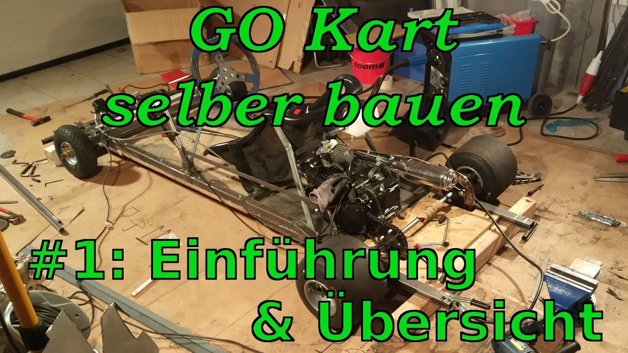kart selber bauen 1 einf hrung youtube. Black Bedroom Furniture Sets. Home Design Ideas