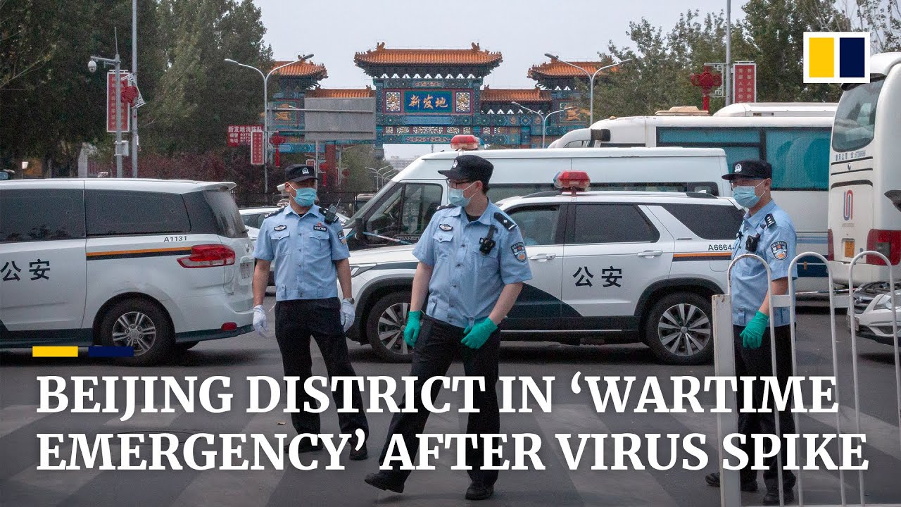 Beijing district in 'wartime emergency mode' after spike in local ...