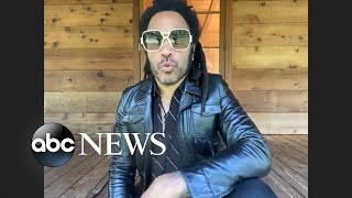 Lenny Kravitz discusses his new book, 'Let Love Rule'