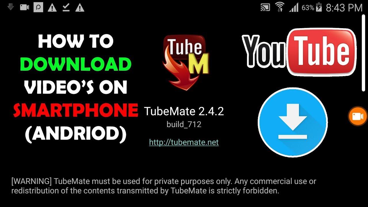 tubemate youtube downloader 2.4.2