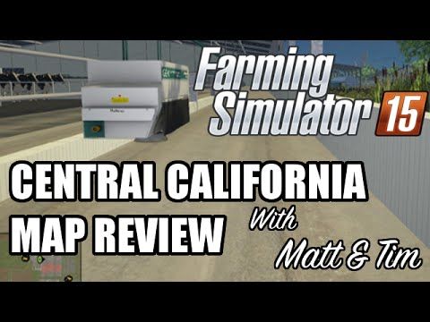 Central California Map Review