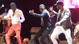 Duo extraordinaire entre Sidy Diop, Elhadj Keita et Bass Thioung au Grand Théâtre...