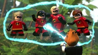 LEGO The Incredibles Walkthrough - Chapter 11 Above Parr - All Minikits (100% Guide)