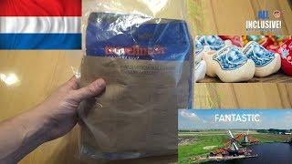Сухой паёк ИРП армии Нидерландов. Сухпай MRE Niederlande.