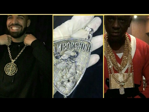 NEW Drake -Asap Ferg -Boosie Badazz -Quavo showing off millions in Jewelry