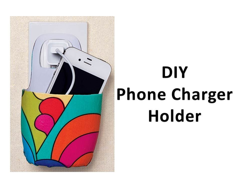 Diy Phone Charger Holder Youtube