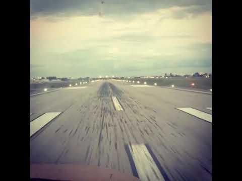 Twilight arrival at Miami executive airport in cessna 172. KTMB