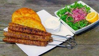 Lamb Kebab Recipe - How To make kabab - shish kebap video recipe - وصفة كباب الضأن