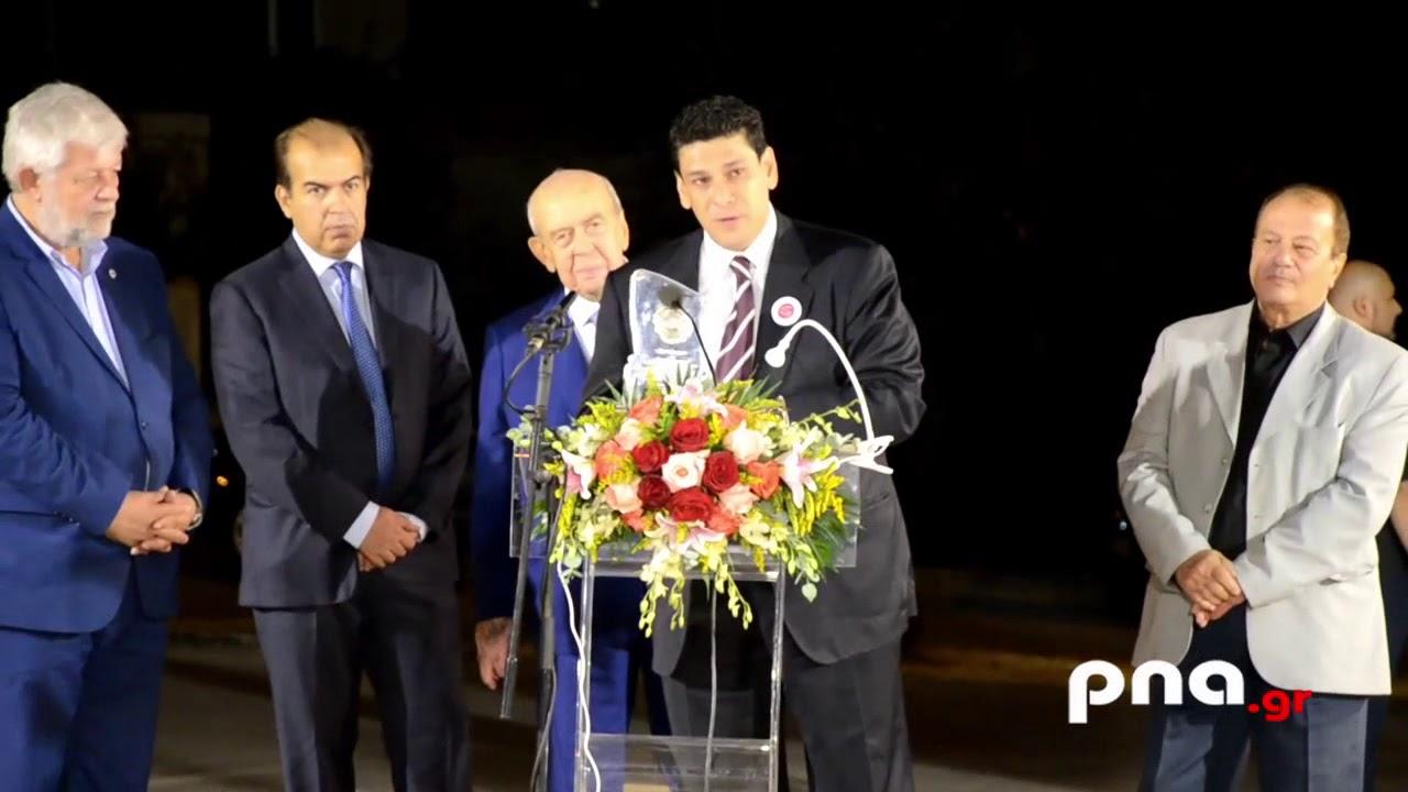 Η ομιλία του Νίκου Τσιαμούλου για την πλατεία Προσφύγων Μικράς Ασίας