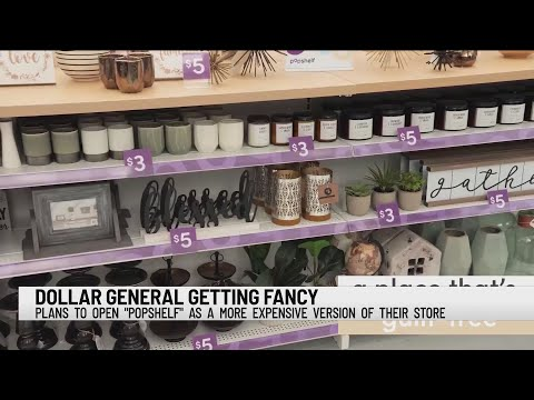 Dollar General To Launch Fancy Pop-up Stores