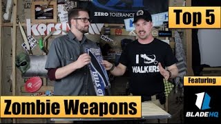 Top 5 Best Zombie Apocalypse Weapons to Buy [Feat: Blade HQ]