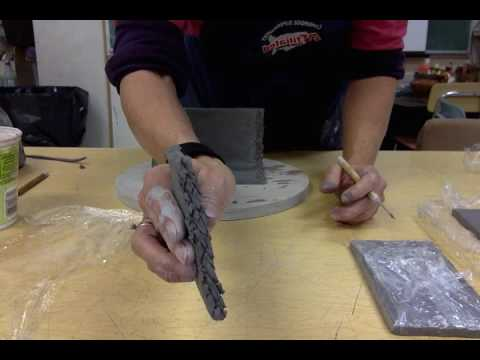 Skill of the week   slab pottery part 2