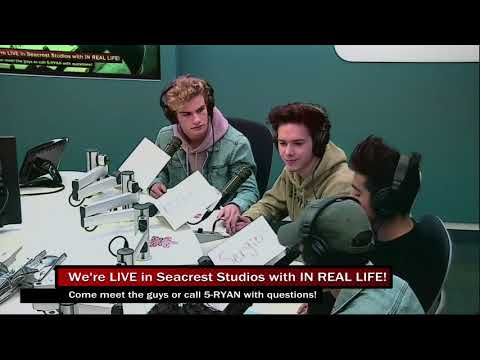 In Real Life Visits Seacrest Studios at Boston Children's Hospital!