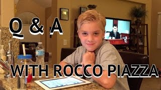 WORLDS FUNNIEST Q & A (WITH ROCCO OF COURSE)!