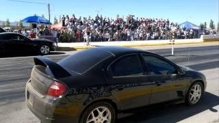 Neon SRT 4 vs Mustang Turbo
