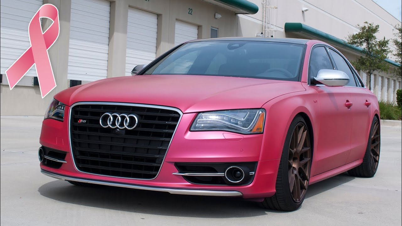 paint your car pink for breast cancer awareness youtube