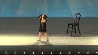 5 Year olds - dance solo - Paige - Jazz Baby - KAR Dance Competition