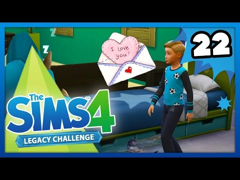HE HAS A SECRET CRUSH! - The Sims 4: Legacy Challenge - Ep 22