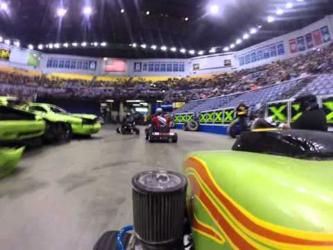 Racing At The Hulman Center POV