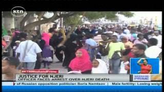 "Lamu family demand to know the ""Killer Police"" who shot Margaret Njeri"