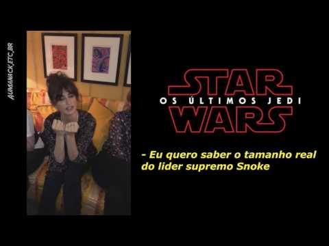 [humor] Amigos de Daisy Ridley fazem perguntas sobre Os Últimos Jedi