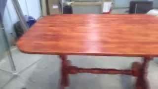 видео Обеденный стол своими руками