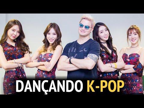 DANÇANDO K-POP COM AS MENINAS DA STELLAR [+13]