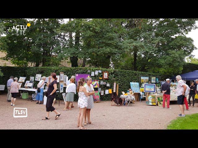 Luçon. 30 artistes présents dimanche dans le jardin Dumaine