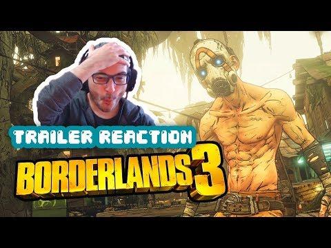 REACCIÓN: Borderlands 3 - Gameplay Trailer (2019)
