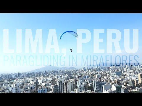 Paragliding Miraflores, Lima, Peru