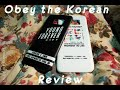 Obey the korean review mp3