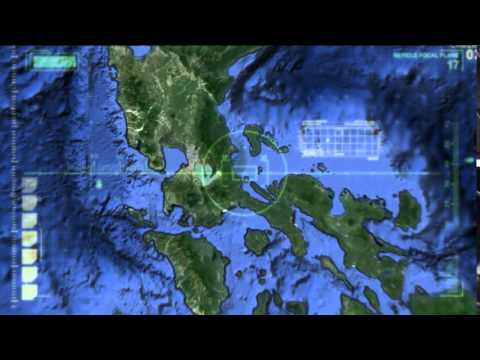 map north and south luzon