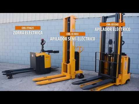 APILADOR SEMI + ZORRA ELECTRICA | TORLETTI LIFT