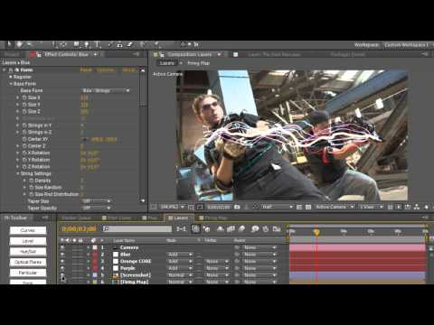 Corridor Digital's Laser Effect Using Trapcode Form   CreativeDojo