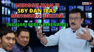MENGGELIKAN !!! SBY DAN IBAS MENGGURUI JOKOWI (SEPERTI NGAJARI BEBEK BERENANG)