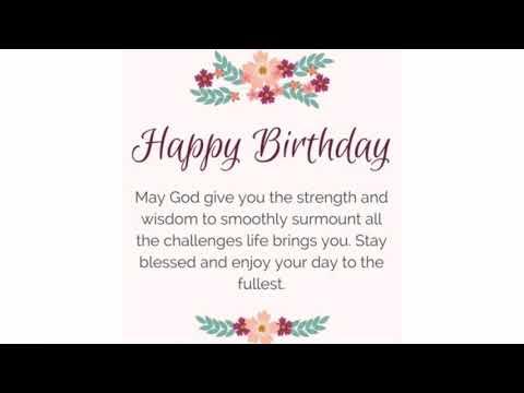 40 Happy Birthday Prayers | WishesGreeting