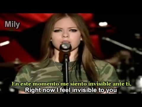 Avril Lavigne - Losing Grip Subtitulado Español ingles