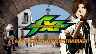 The King of Fighters XI: EX Kyo & Iori Team, Arcade Playthrough (PS2) (1080P/60FPS)