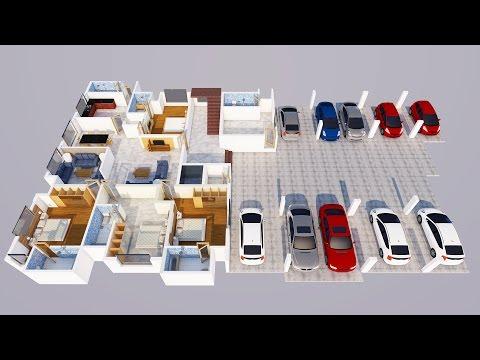 ARCHITECTURE speed built : interior layout Design
