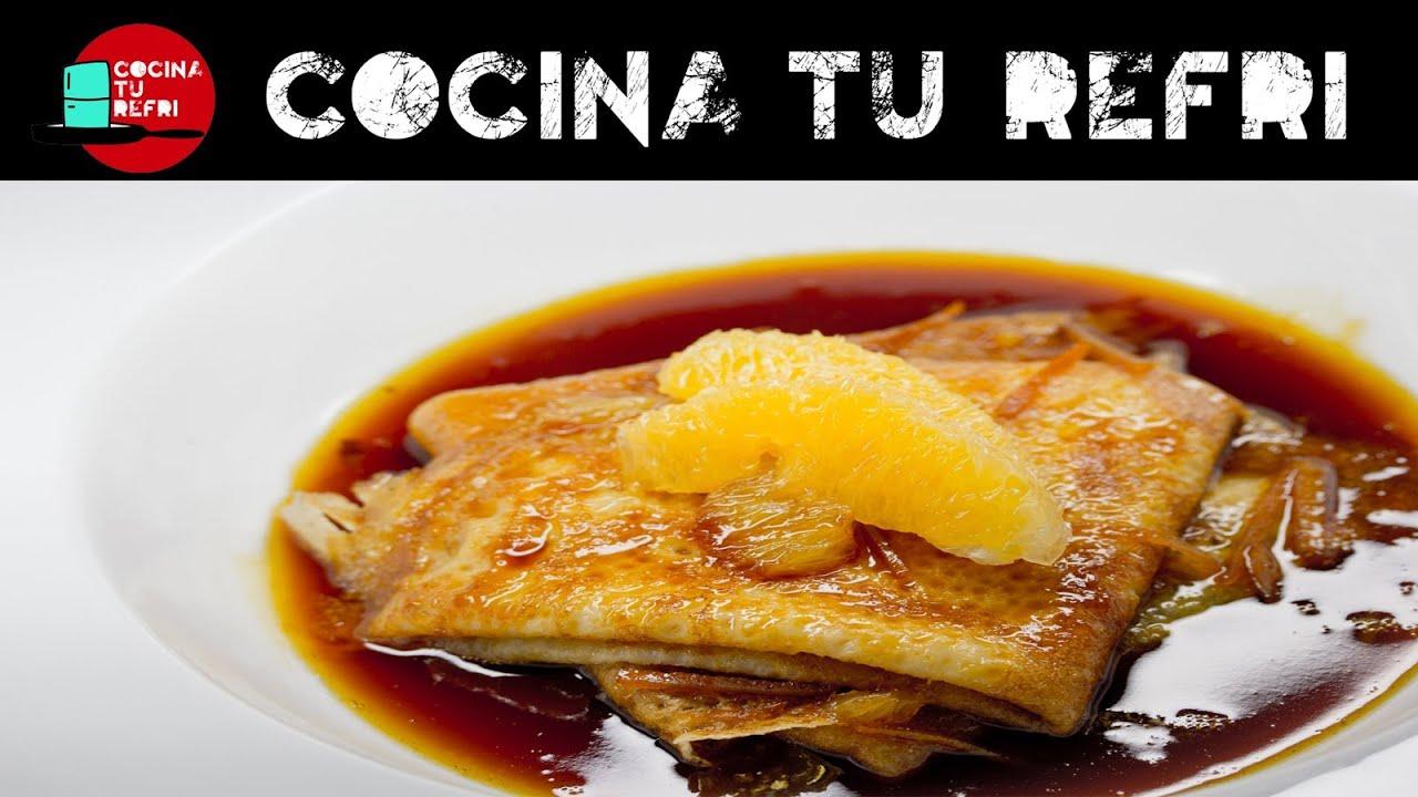 C mo preparar cr pes suzette cocina tu refri 173 crepas for Como cocinar crepes