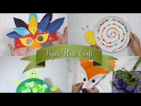 4 Paper Plate Craft | Fun Play DIY for Kids