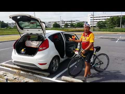 วิธีเก็บจักรยานสำหรับรถเก๋ง