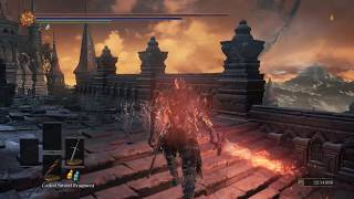 Dark Souls 3 Soul Of Cinder Vs Dragonslayer Armour 3XHP