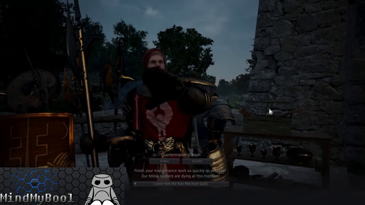 Black Desert Online Quest Trina's Supply System for 2019 - [Crossroad] Each  of Their Reasons path