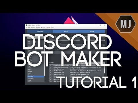 Discord Bot Maker Tutorials - #1 | Basic Overview And Explanation Of Modules