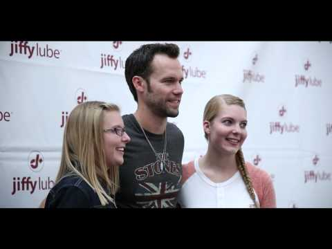 Chad Brownlee at CCMA Jiffy Lube FanFest