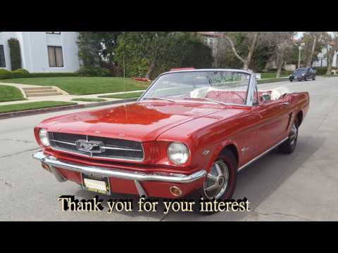 1964 1/2 Ford Mustang Convertible Restoration - Differences between 1964 1965 mustangs