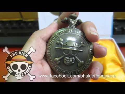 [Phụ kiện One Piece] Trên tay đồng hồ quả quýt H18