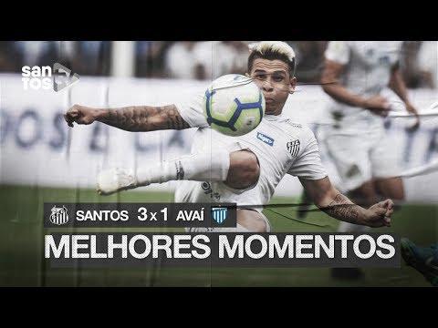 SANTOS 3 X 1 AVAÍ | MELHORES MOMENTOS | BRASILEIRÃO (28/07/19)