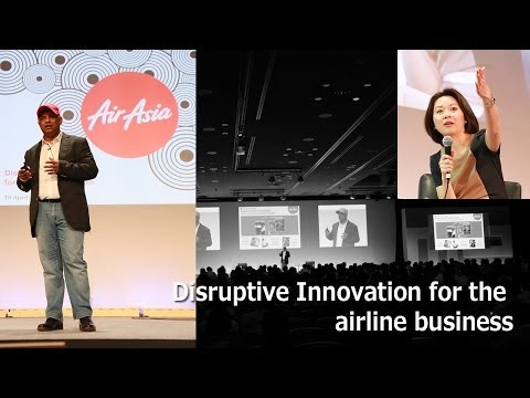 Disruptive Innovation for the airline business -NES2014-